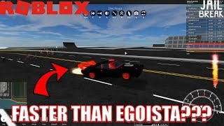 A Car FASTER than Lamborghini Egoista??? | Roblox Vehicle Sim