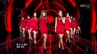SISTAR - Alone @ 120415 SBS Inkigayo [Comeback Stage]
