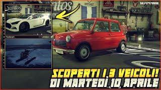 GTA 5 ITA DLC - SCOPERTI I 3 VEICOLI CHE USCIRANNO MARTEDì 10 APRILE + COMPETIZIONE SEGRETA!