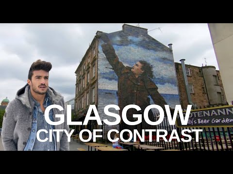 [4K] Glasgow, Scotland (2019) - City Centre Walking Tour
