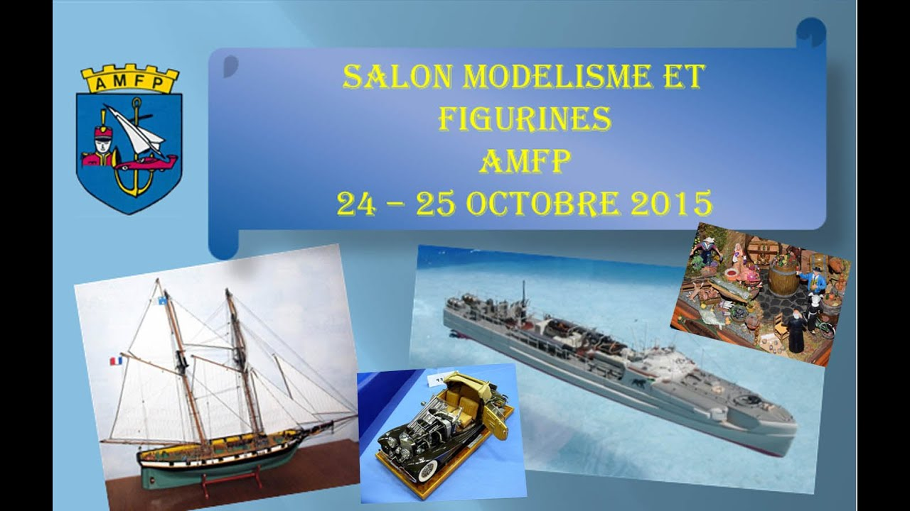 salon modelisme et figurines poissy youtube