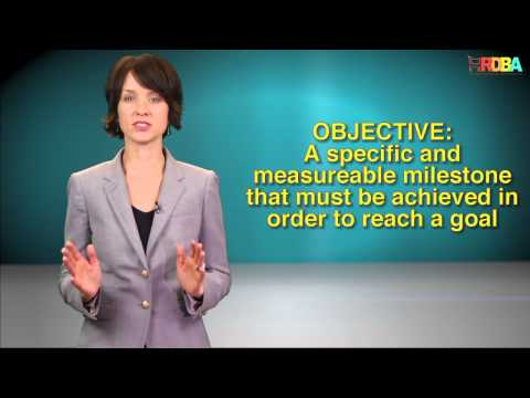 Goals, Objectives, Strategies & Tactics:  What's the difference?