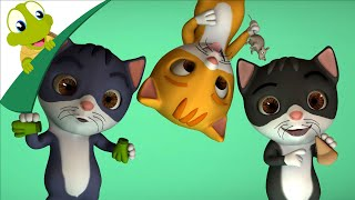 Three Little Kittens 3D rhyme and more animal songs