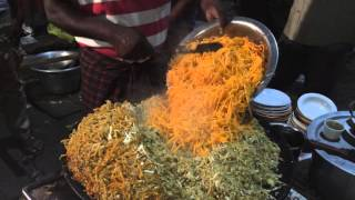 Chennai Street Food - Egg Noodles Prepared for 40 People - Indian Street Food