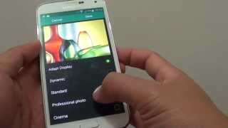 Learn how you can change the screen mode on the Samsung Galaxy S5. ...