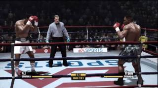 Tyson vs Ali Fight Night Champion Demo Gameplay