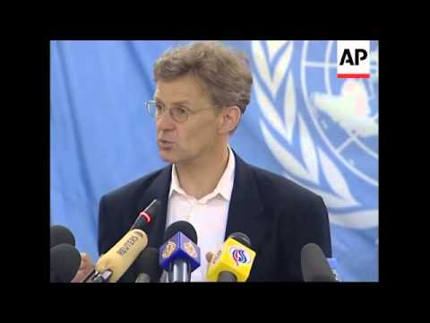 UN envoy on financial aid and reconciliation in Darfur