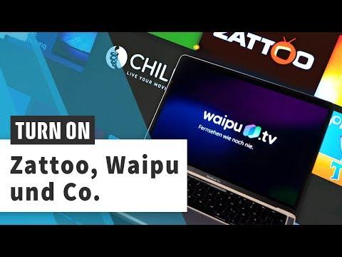Fernsehen über das Internet: So gut sind Zattoo und Waipu
