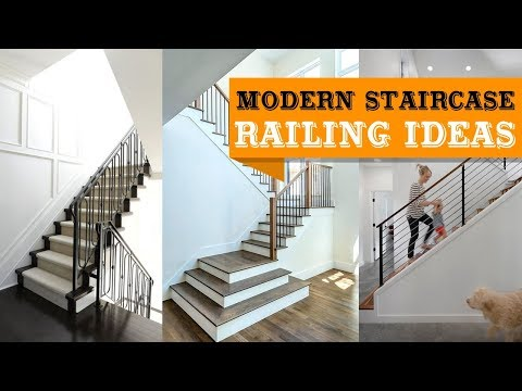 100+ Modern Staircase Railing Ideas