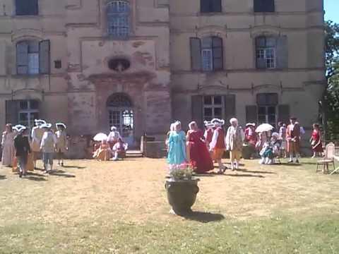 Riquet Festival - 17th century dance - June 2013