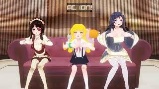 Custom Maid 3D 2  - Doki Doki Fallin' Love (Shinobu , Ayase , Megumin)