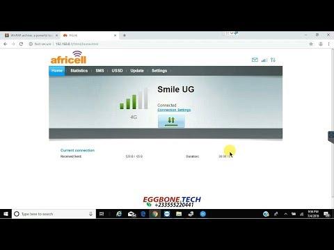 Unlock Africell Uganda Huawei E3372h-153 Modem