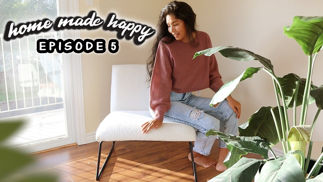Reupholster Chairs Without a Sewing Machine + Q&A | Home Made Happy - Ep. 5