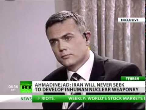 Iran's Ahmadinejad Interview August 2011
