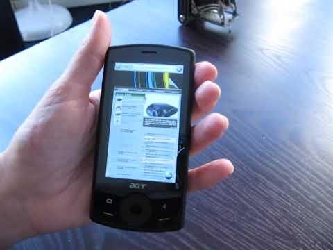 Acer beTouch E101 - LesNumeriques / DigitalVersus