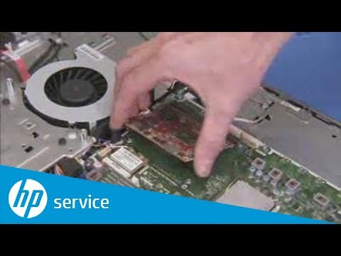 Add or Replace the MXM Graphics Card | ENVY 23-1000 | HP