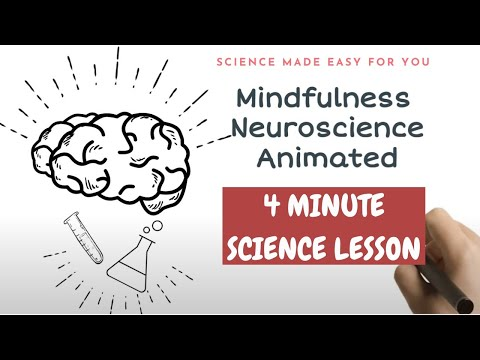 Neuroscience of Mindfulness Meditation - Explained in 4 minutes