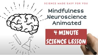 Neuroscience of Mindfulness Meditation in 4 minutes
