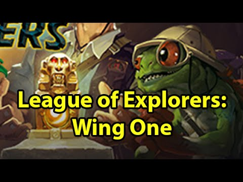 League of Explorers: Wing One with Crendor
