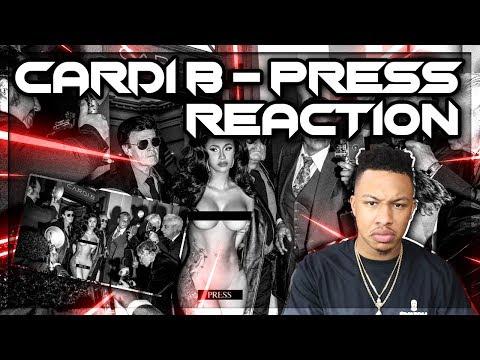 Cardi B - Press   Reaction
