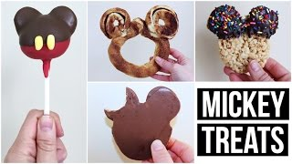 DIY MICKEY MOUSE SHAPED TREATS #1 | WALT DISNEY WORLD INSPIRED