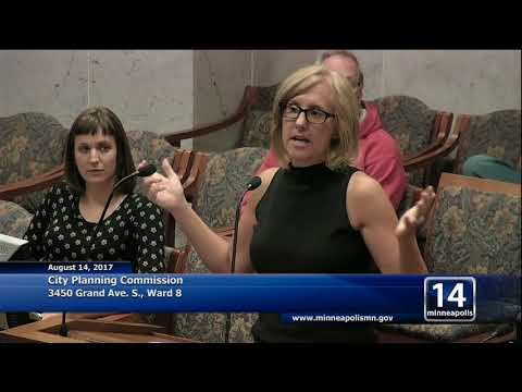 August 14, 2017 City Planning Commission