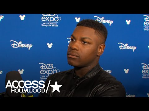 John Boyega Teases Upcoming 'Star Wars: Episode VIII The Last Jedi' At D23 | Access Hollywood