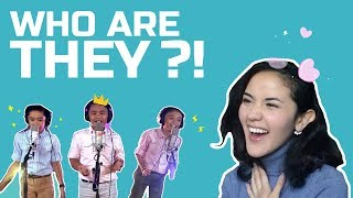 WHO ARE THEY?! - MaOneLoveREACTS (Flashlight Cover | TNT Boys)