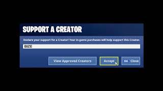 Fortnite Creator Codes Item Shop Animations | FREE!