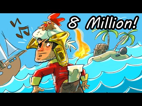 8 MILLION SUBSCRIBER OMEGLE PIRATE TALK SPECIAL