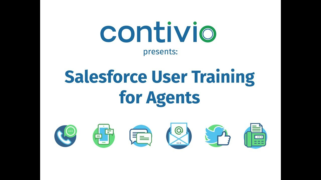 User Training Videos - Contivio Online Help