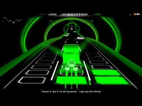 Audiosurf - Yasmin ft. Shy FX & Ms Dynamite - Light Up (The World) from YouTube · Duration:  5 minutes 14 seconds