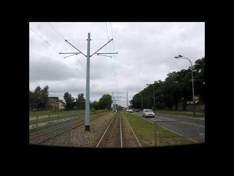 Lodz Trams Suburban line 46 cabride