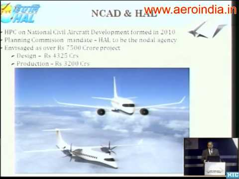 Hindustan Aeronautics Limited [HAL] - Product Portfolio And Design & Manufacturing Goals Till 2020