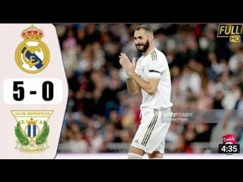 КРАСИВЫЙ Гол в КОНЦОВКЕ Матча! Реал Мадрид 5:0 Леганес // Обзор Голов & Опасных Моментов