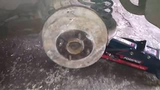 Снятие и установка задней ступицы форд мондео универсал 1- 2