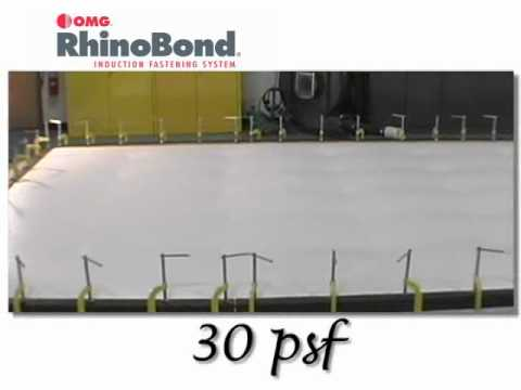 Rhinobond Uplift Deck Omg Roofing Products Youtube