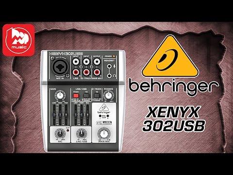 Микшерный пульт BEHRINGER XENYX 302USB