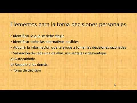 ventajas y desventajas de aprender a tomar decisiones de manera informada