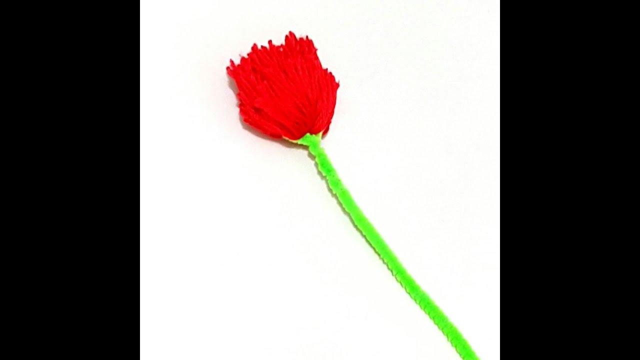 كيفية صنع وردة من الخيوط