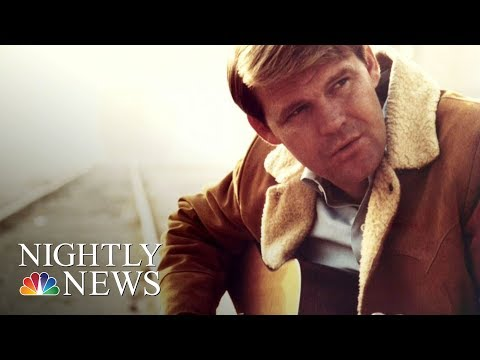 Country Music Singer Glen Campbell Has Died | NBC Nightly News