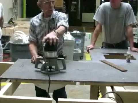Total Fabrication Training of Solid Surface Material - YouTube