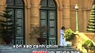 karaoke Những bông hoa trong vườn Bác - Sáng tác: Văn Dung - Biểu diễn: Thùy Dương