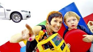 Детские песенки про машинки. Что такое светофор?