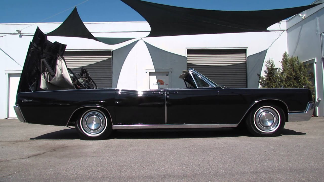 1967 lincoln continental convertible top operation youtube. Black Bedroom Furniture Sets. Home Design Ideas