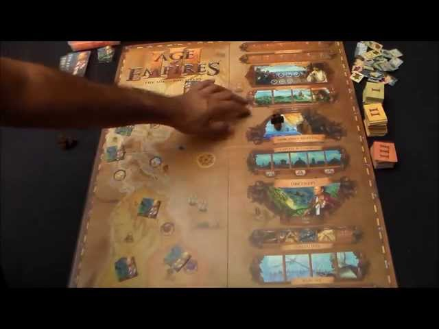 Age of Empires III: The Age of Discovery | BoardGamesWeb