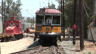 OERM Snap Shots Los Angeles Railway Trolley Car 1201 LARy HD
