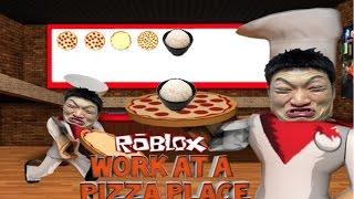 ASIATISCHE ÜBERNAHME! | Roblox Arbeit an einem Pizza-Ort