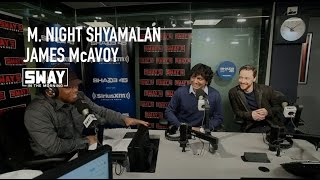 "M. Night Shyamalan and James McAvoy Break Down ""Split"" Movie on Sway in the Morning"