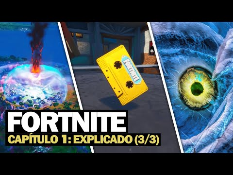 HISTÓRIA COMPLETA DO FORTNITE: CAPÍTULO 1 (3/3)